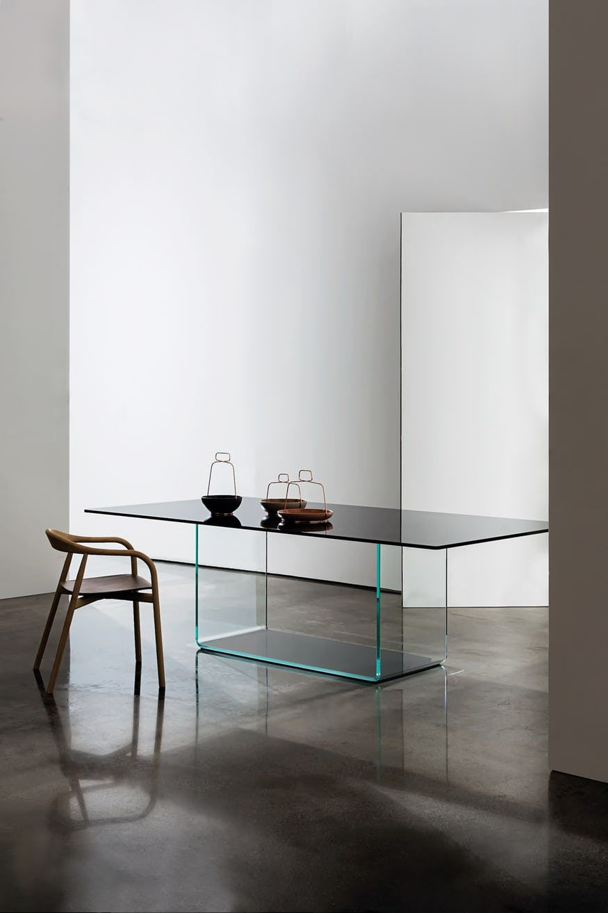 Valencia Dining Table By Sovet Dining Table Black Glass Dining