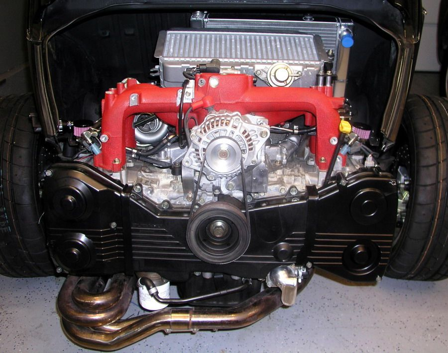 Subaru 2.5l turbo DOHC Now that I have seen that a STI