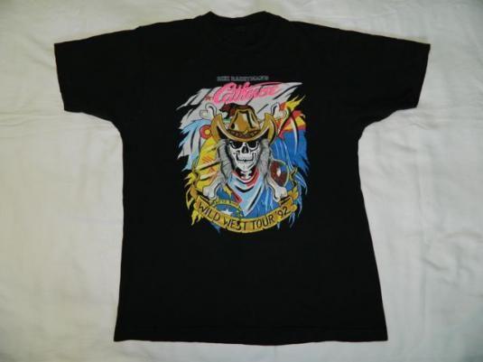 Vintage CATHOUSE HOLLYWOOD TOUR 92 T-Shirt FASTER PUSSYCAT #cathousehollywood #rikirachtman