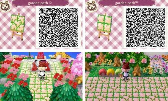 Grass Tile Qr Codes Animal Crossing Animal Crossing Qr
