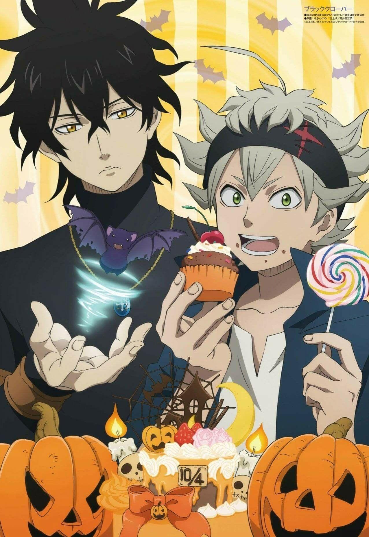 Black Clover Halloween Black clover anime, Anime, Clover