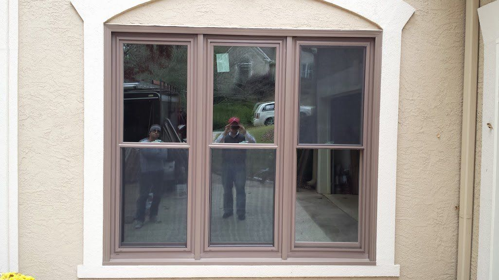 The Zen Lotus Triple Pane Window With Custom Exterior Color This Window S Efficiency Outperforms Nearly Every Window On The Mark Window Installation