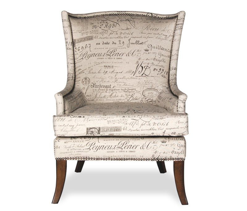 Accent Chair In Revenge: Upholstered Furniture, Furniture, French