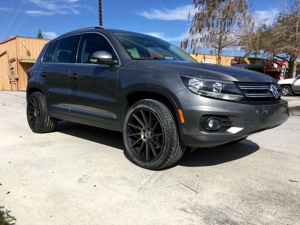 Volkswagen Tiguan Black Rims Www Pixshark Com Images