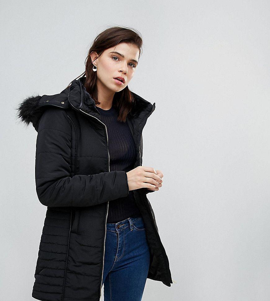 Enger Mantel mit kurzem Reißverschluss - Rot Brave Soul Bester Großhandel Gut Verkaufen Verkauf Online Speichern Günstigen Preis YJJFUPWSYQ