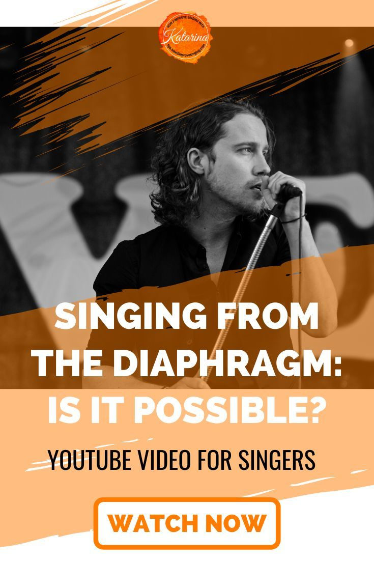 Is singing from the diaphragm possible? If so, how do you ...
