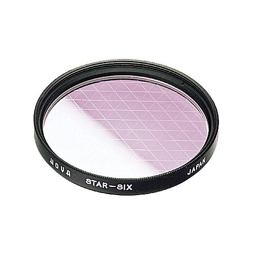 Hoya 52mm Star6 Filter Glass filter, Filters, Point light