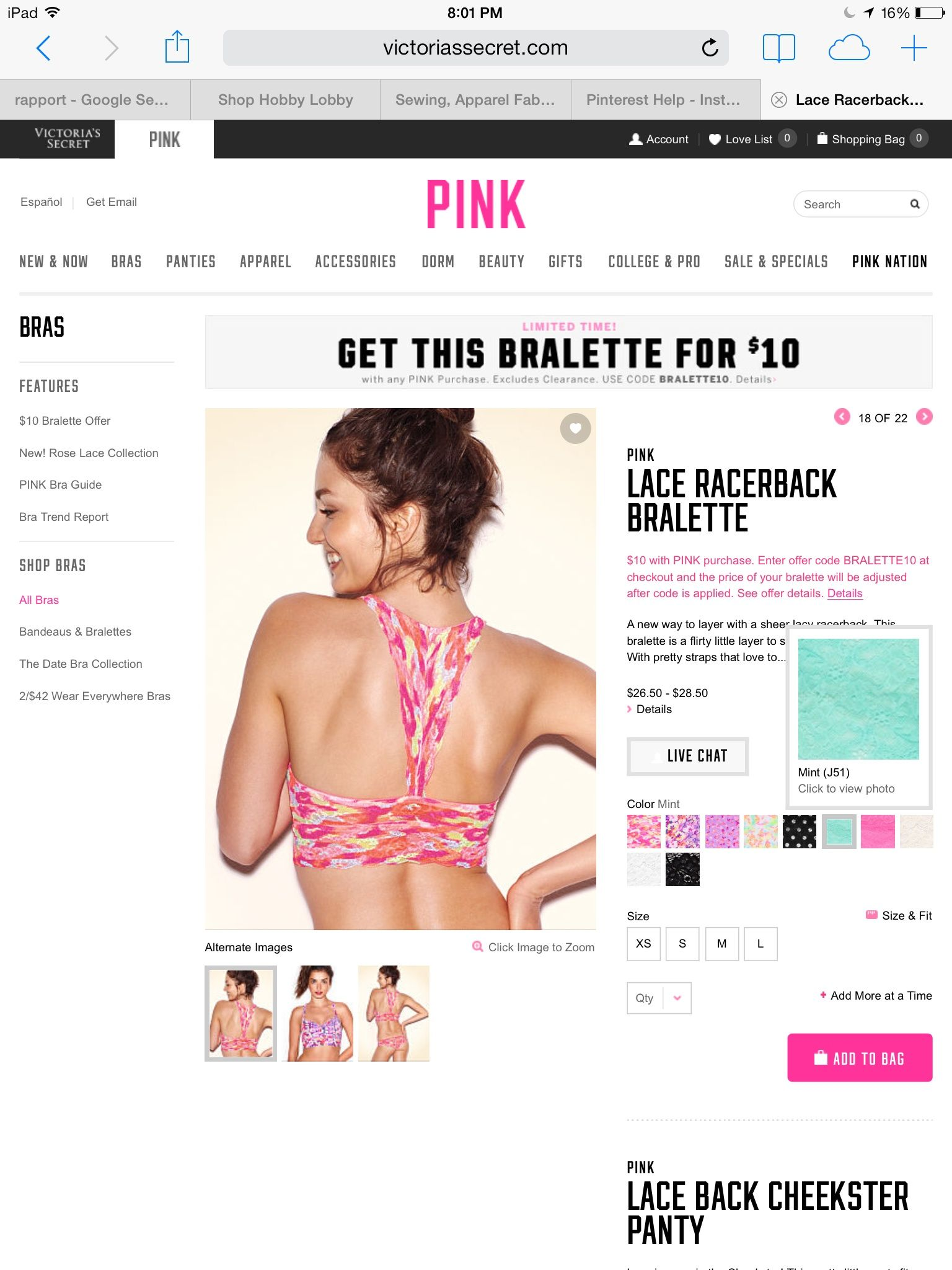 b3425986d2d5c The bralette looks super comfy!! Christmas Wishes