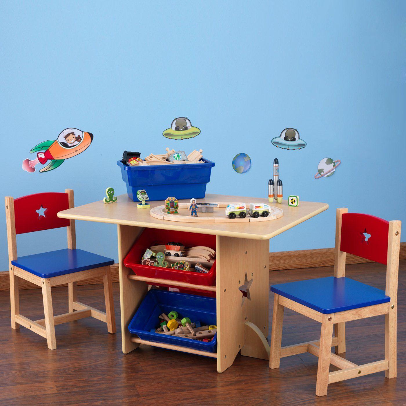 Kidkraft 26912 Star Kids Table & 2 Chair Set