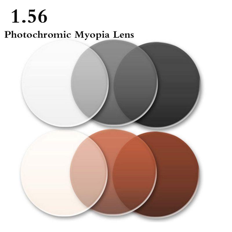 f0f864e4c2 1.56 Index Single Vision Aspheric Photochromic Prescription CR-39 Eye Glasses  Lens Myopia Presbyopia Lens