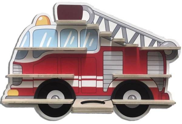 Feuerwehr Regal für Musikbox