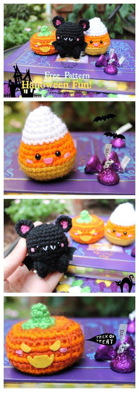 Amigurumi Food: Halloween is Coming soon...Halloween Fun!! Free ...
