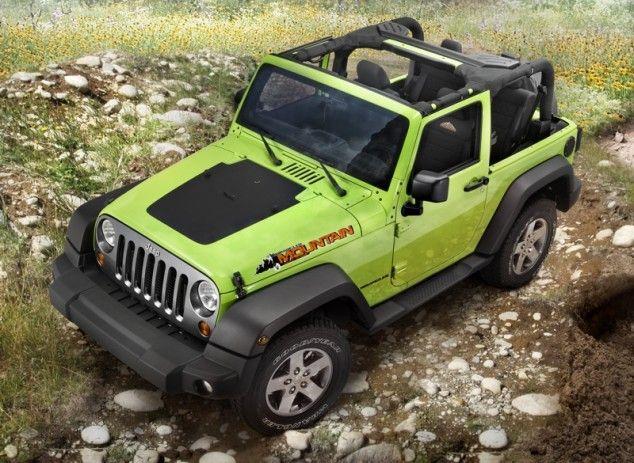 Jeep Wrangler Mountain Special Edition Model Jeep Wrangler 2012