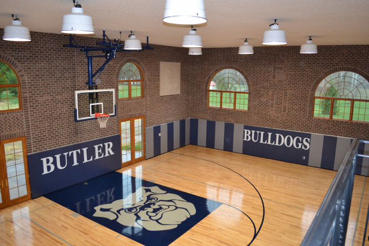 Image Result For Custom Home Plans With Indoor Basketball Court Indoorbasketball Basketballimages Indoor Basketball Court Basketball Room Indoor Basketball