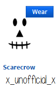 Face Https Www Roblox Com Scarecrow Item Id 26260927 Roblox Face Scarecrow