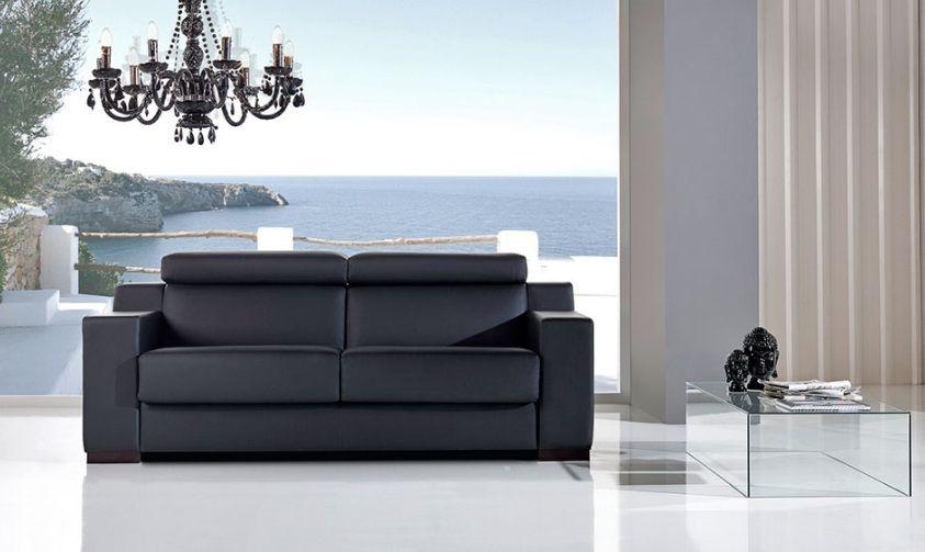 Sofá cama de altsima calidad y dise±o clásico equipado con un