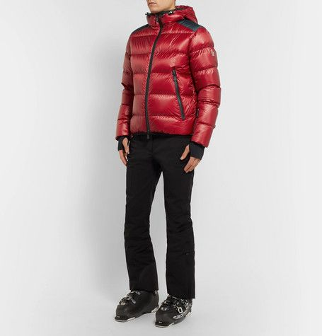 4ff498d5a MONCLER GRENOBLE HINTERTUX QUILTED HOODED DOWN SKI JACKET ...