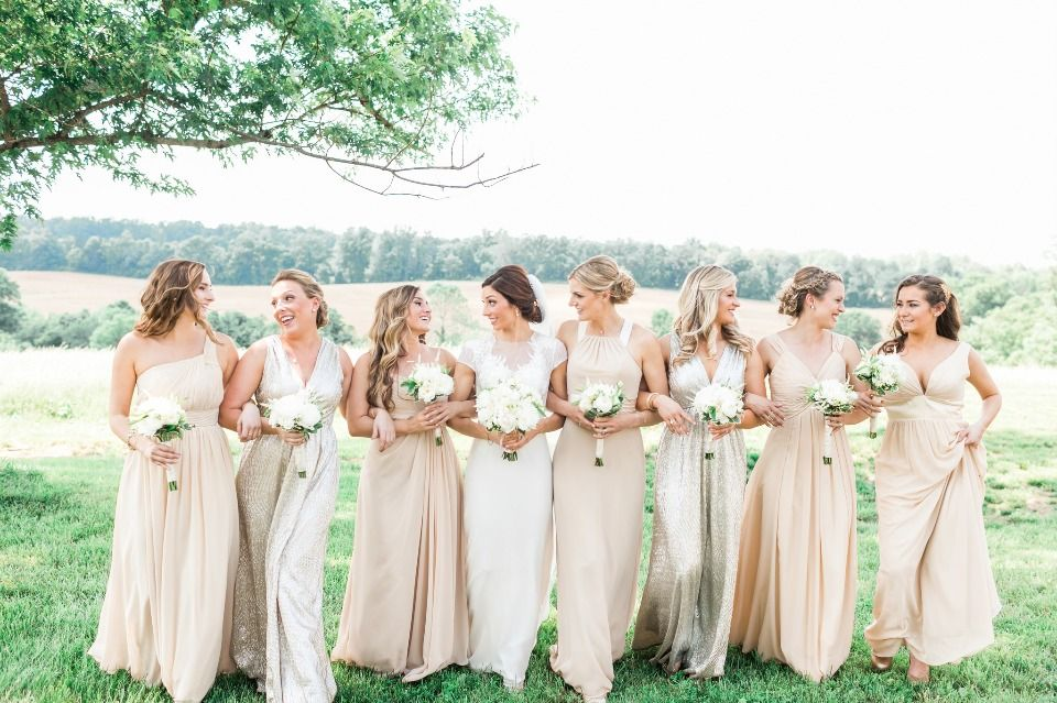 New Trendy Bridesmaid Dresses In Every Color