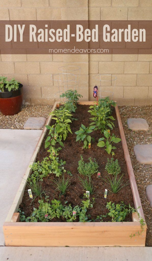 Simple DIY Raised-Bed Garden Project