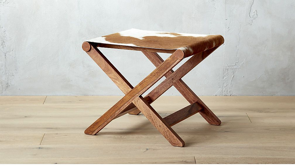 Awe Inspiring Curator Hide Stool Table 299 For Under Open Console Evergreenethics Interior Chair Design Evergreenethicsorg