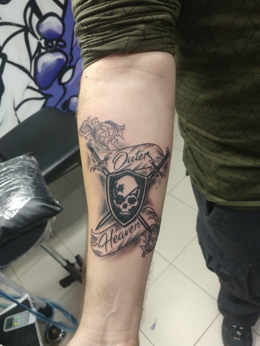 Metal gear solid tattoo