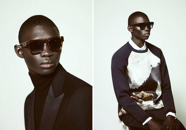 A.Sauvage Spring 2014 Eyewear Campaign • Selectism