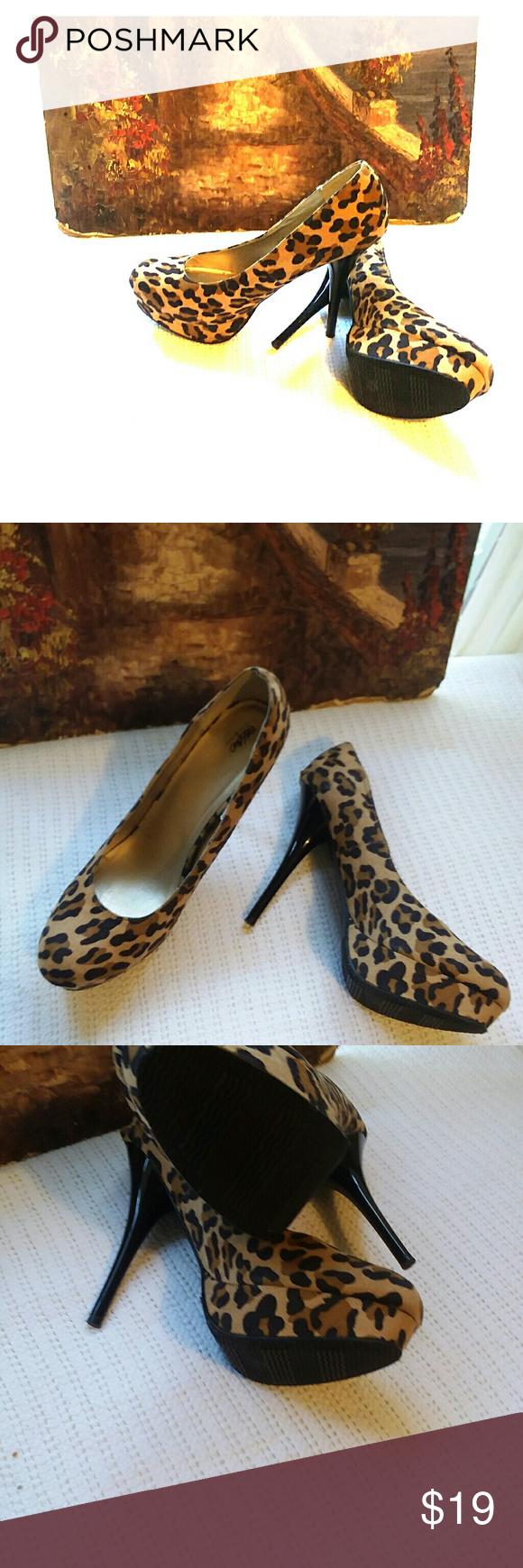 Leopard print pumps, Heels, Pumps