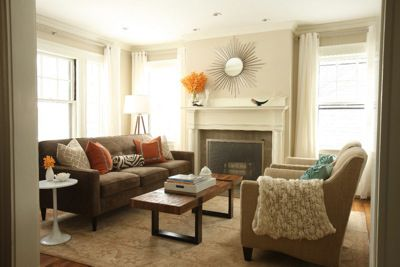 Boston Interiors Giselle Sofa and Apollo Chairs in interior stylist and blogger Erin Gates home. : boston interiors sectional - Sectionals, Sofas & Couches