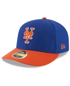 New Era New York Mets Batting Practice Diamond Era Low Profile 59FIFTY Cap  - Blue 7 3 4 d362eba5984b