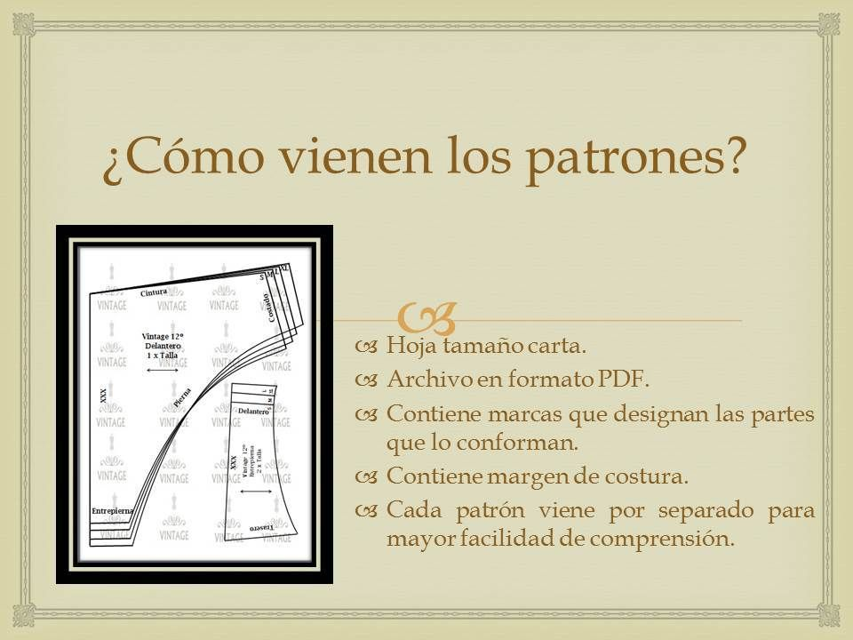 Patrones De Ropa Intima, Blumas, Pantys, Pantaletas Victoria - Bs ...
