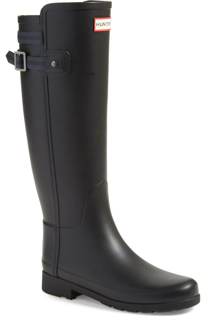 29adf3ebdc83f5 Love the new sleek look of these Hunter boots. These are definitively a hot  item at the NSale.