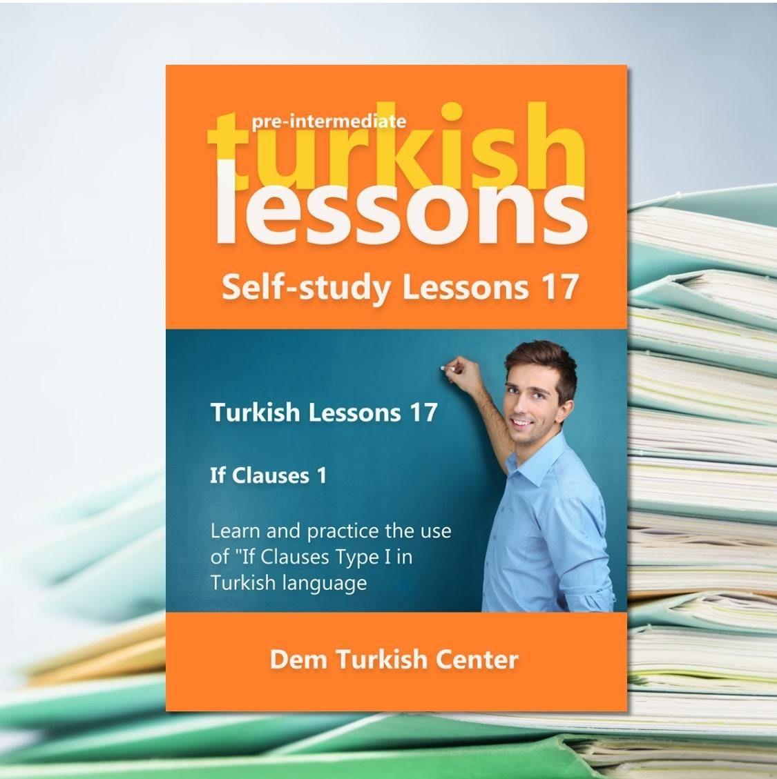 Turkish Lessons 17 Pre Intermediate