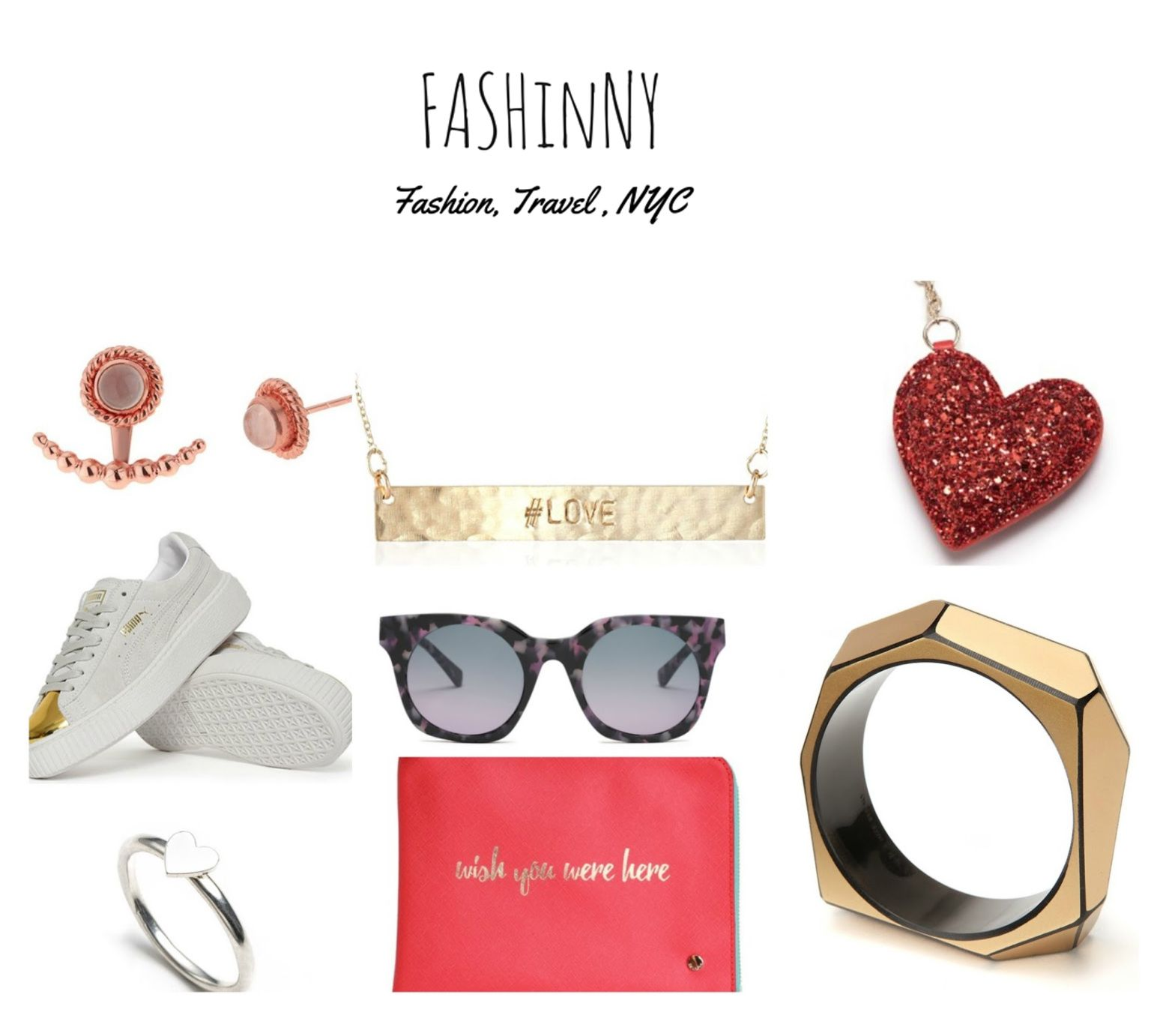 FASHINNY NYC January 2017 Valentine day gifts, Gift