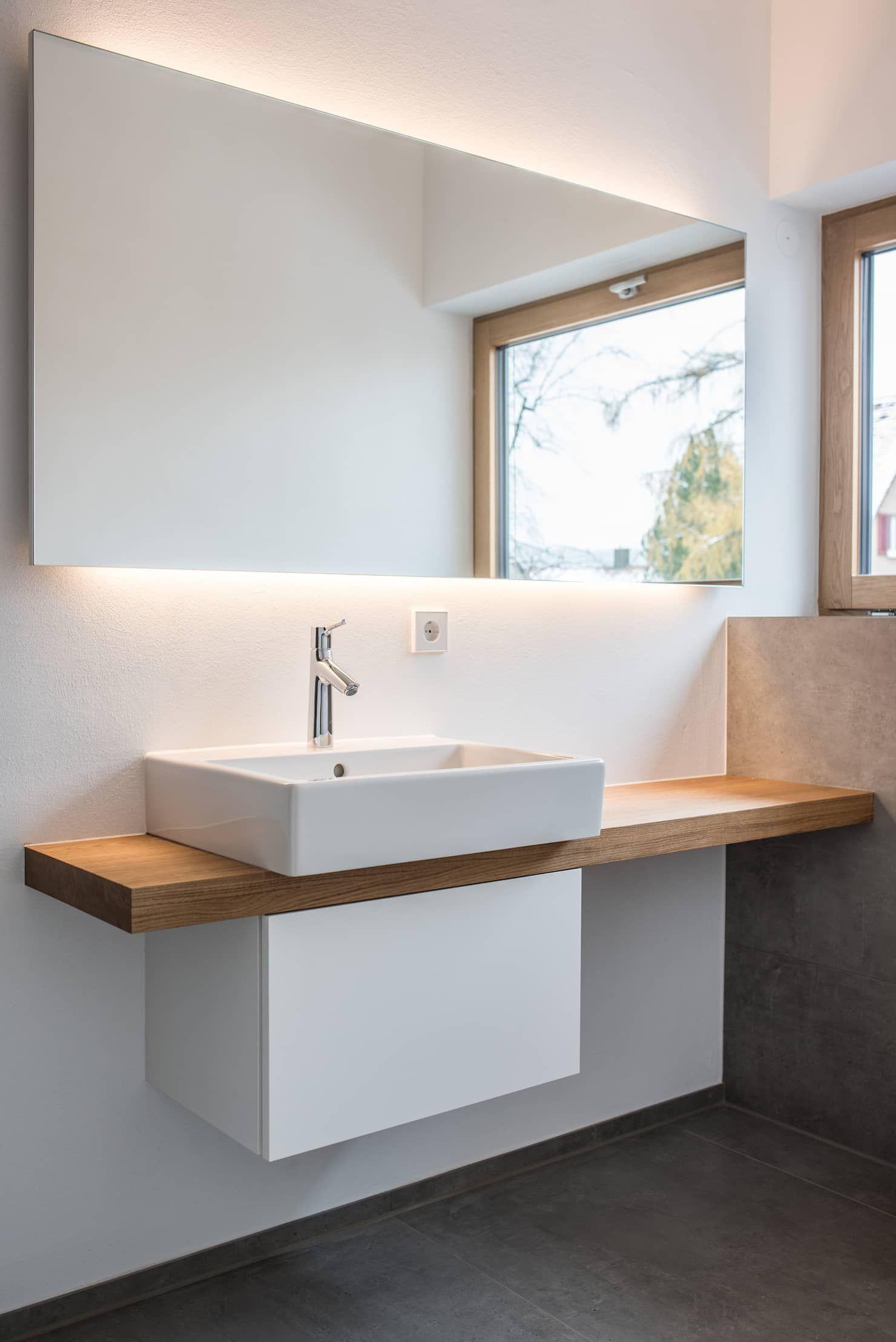 Waschtisch mannsperger möbel + raumdesign moderne badezimmer   homify   Modern bathroom ...