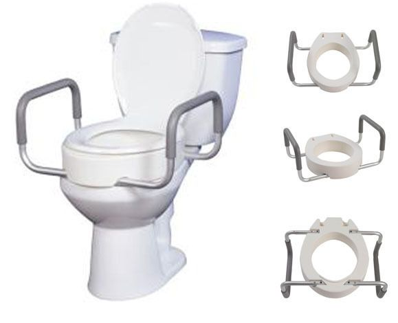 Top 5 Raised Toilet Seats Guide To Best Handicap Toilet Seat Risers Toilet Handicap Toilet Toilet Seat