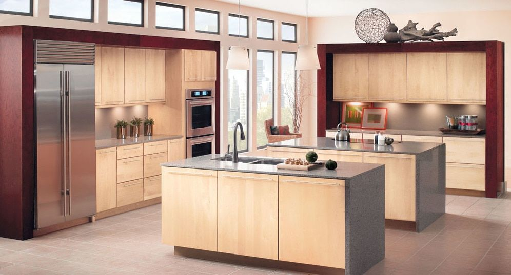 Great Ideas Kitchens Wood Kitchen Cabinets Maple Kitchen Cabinets Kitchen Renovation