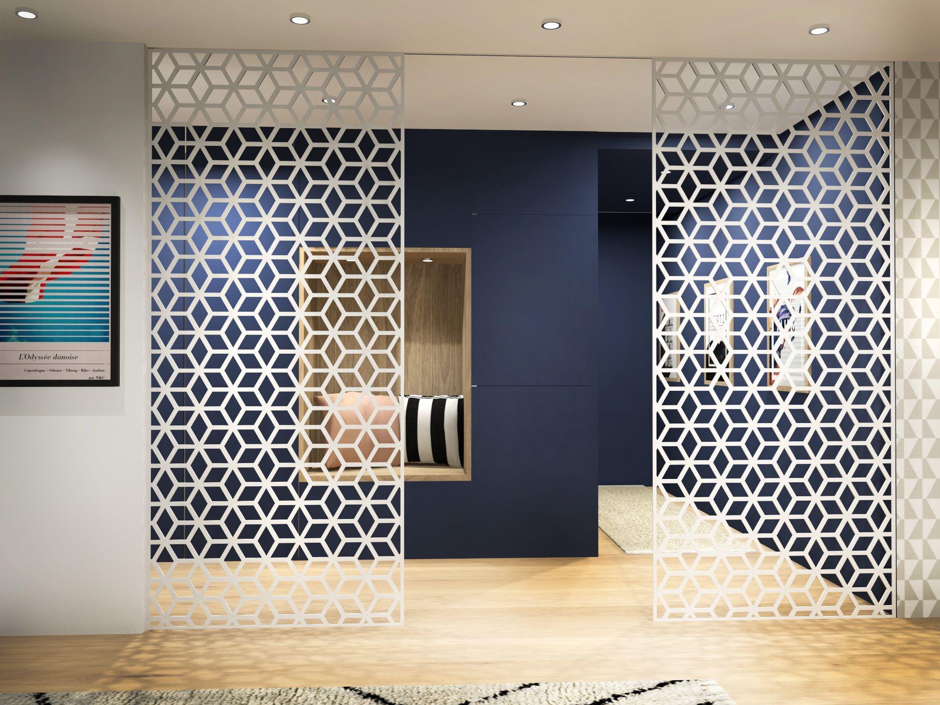 Cloisons décoratives métal sur-mesure | CNC cutting Đesigns ...