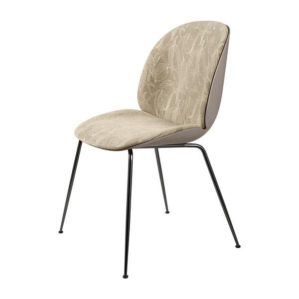 Beetle Dining Chair Conic Base Front Upholstered Dining Chairs Upholster Chair