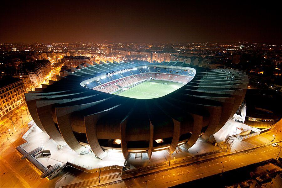 Estadio Del Psg Parc Des Princes Paris Saint Germain Soccer Stadium