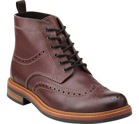 a8e9c77bf9a3c Amazon.com: Clarks Darby Rise Fashion Oxford Wingtip Lace Up Boots ...