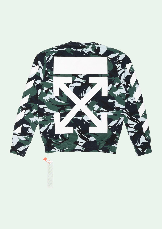 Camouflage Sweatshirt Off White Tm Nixxboi Off White Sweatshirt Balenciaga Shirt Camouflage Sweatshirt [ 1413 x 1000 Pixel ]
