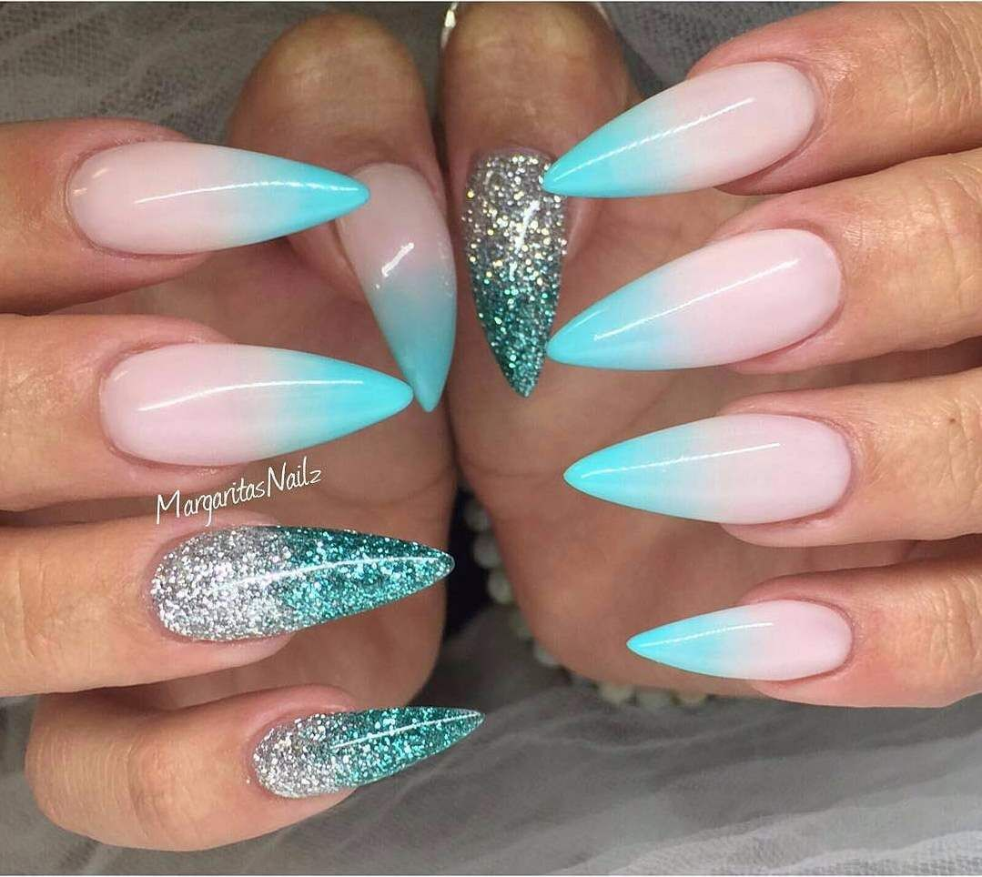 70 Acrylic Nail Art Designs 2018 With Images Acrylic Nail Designs