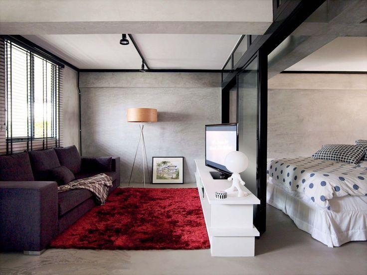 Casinha colorida: Como integrar os ambientes (dicas e um projeto em apenas 30 m2)