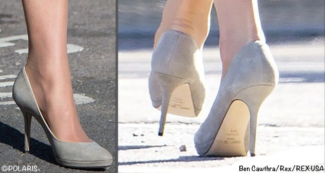 Kate Debuted A New Pair Of Shoes Jimmy Choo Aimee Pumps