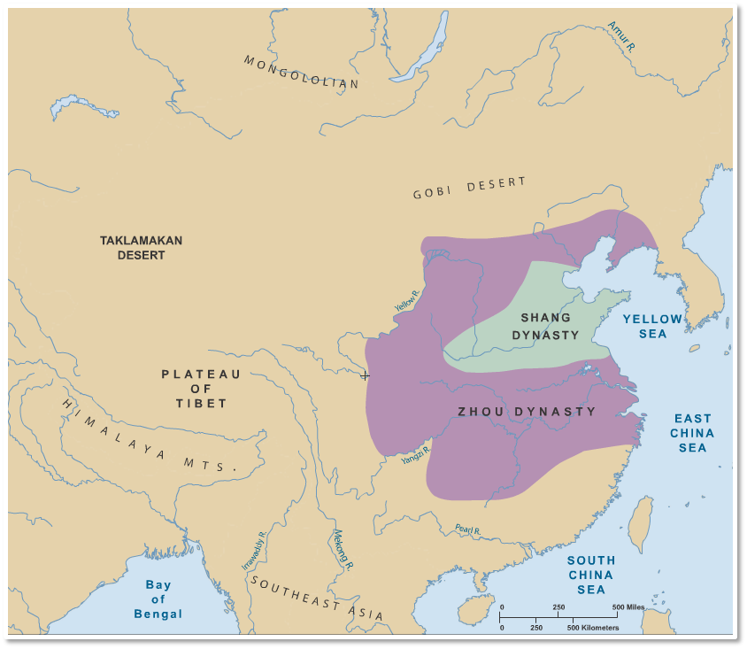 Shang Dynasty (1556-1046 BCE) were proto-Chinese and Zhou ...