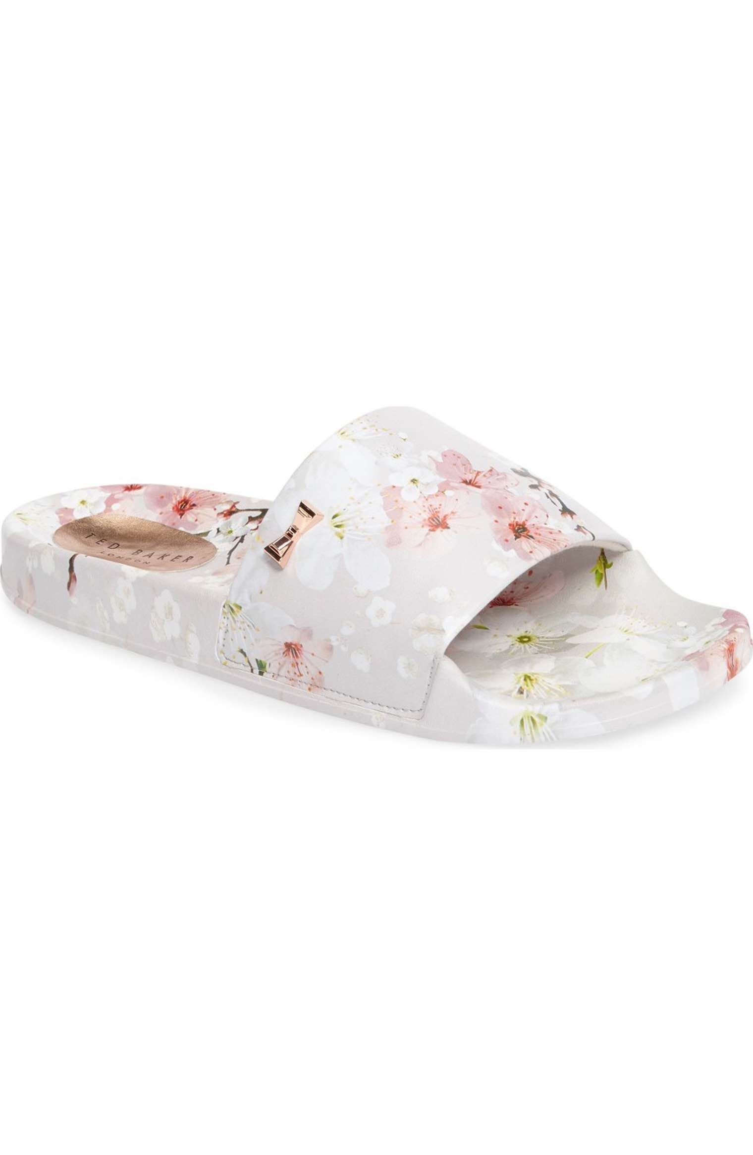 7136d7f5e Main Image - Ted Baker London Armeana Slide Sandal (Women) Cherry Blossom  Shoes!
