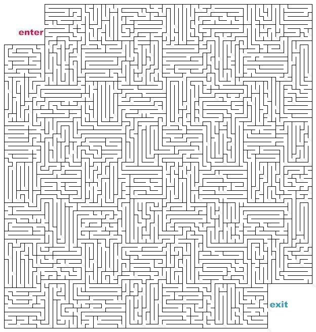 Hardest Maze Universe