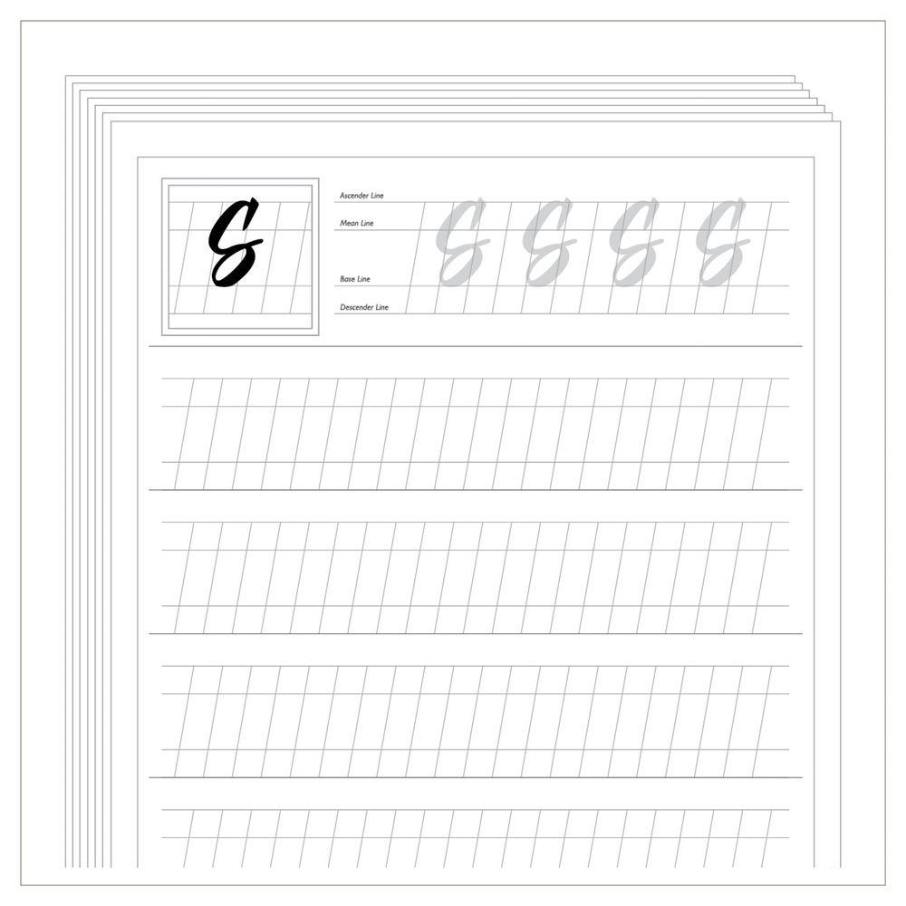 free calligraphy worksheets printable - Google zoeken   Lettering ...
