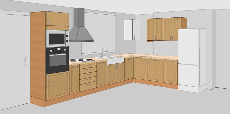L Shape Kitchen Layout Feng Shui Kitchen Layout L Shape Kitchen