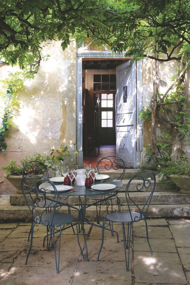 Deco Salle A Manger Sur La Terrasse Ou Au Jardin Maison De